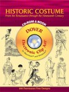 Historic Costume CD-ROM and Book: From the Renaissance through the Nineteenth Century - Tom Tierney
