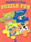 Toddler's First Puzzle Fun--Red - Yoyo Books