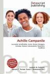 Achille Campanile - Lambert M. Surhone, Susan F. Marseken