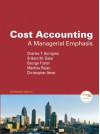 Cost Accounting: A Managerial Emphasis, 13th Edition - Charles T. Horngren, George Foster, Srikant M. Datar, Madhav Rajan, Chris M. Ittner