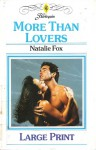 More Than Lovers - Natalie Fox