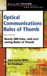 Optical Communications Rules of Thumb - John Lester Miller, Ed Friedman