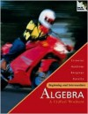 MP: Beginning and Intermediate Algebra: A Unified Worktext W/ Olc Bind-In Card - James Streeter, Donald Hutchison, Stefan Baratto, Barry Bergman