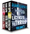 Licensed to Thrill: Volume 2, Jess Kimball Thriller - Diane Capri