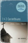 Meditative Commentary Series: 1 and 2 Corinthians: Jesus, Cross, Church - Earl Lavender