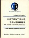 Institutions Politiques Et Droit Constitutionnel 1 - Maurice Duverger
