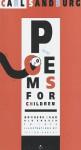 Poems for Children Nowhere Near Old Enough to Vote - Carl Sandburg, Carl Sandburg Family Trust Staff, Istvan Banyai