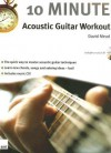 10 Minute Acoustic Guitar Workout (Book & Cd) - David Mead