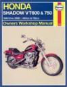 Honda VT600 and VT750 Shadow V-Twins Owners Workshop Manual - Mike Stubblefield, John Harold Haynes