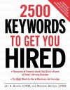 2500 Keywords to Get You Hired - Jay A. Block, Michael Betrus