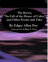 The Raven, The Fall of the House of Usher, and Other Poems and Tales - Edgar Allen Poe, William P. Trent