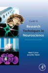 Guide to Research Techniques in Neuroscience - Matt Carter, Jennifer Shieh