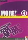 More! Level 4 Extra Practice Book - Rob Nicholas, Herbert Puchta, Jeff Stranks