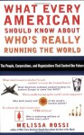 What Every American Should Know About Who's Really Running the World - Melissa L. Rossi