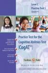 Cognitive Abilities Test CogAT® Multilevel C Book (Grade 4*) - Practice Test 1 - Mercer Publishing