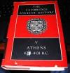 The Cambridge Ancient History: Volume 5, Athens 478-401 BC (v. 5) - J. B. Bury, S. A. Cook, F. E. Adcock