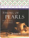 String of Pearls: Recipes for Living Well in the Real World - JoAnna Lund, Barbara Alpert