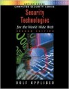 Security Technologies for the World Wide Web - Rolf Oppliger