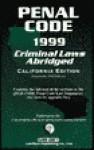 Penal Code 1999 - Lawtech Publishing Company
