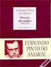 Poesia Reunida 1990-2000 - Fernando Pinto do Amaral