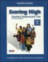 Scoring High on SAT: Teacher Edition Grade 3 - WrightGroup/McGraw-Hill