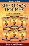 Sherlock Holmes re-told for children 6-in-1 Box Set: The Blue Carbuncle, Silver Blaze, The Red-Headed League, The Engineer's Thumb, The Speckled Band, The Six Napoleons - Mark Williams