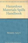 Hazardous Materials Spills Handbook - Gary Bennett, Frank S. Feates, Ira Wilder