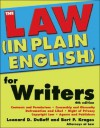 The Law (in Plain English) for Writers - Leonard Duboff, Bert Krages