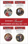 Harlequin Presents September 2015 - Box Set 1 of 2: The Greek Commands His MistressTraded to the Desert SheikhA Pawn in the Playboy's GameFrom One Night to Wife - Lynne Graham, Caitlin Crews, Cathy Williams, Rachael Thomas