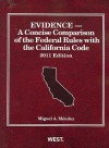 Evidence: A Concise Comparison of the Federal Rules with the California Code - Miguel A. Mendez