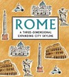 Rome: A Three-Dimensional Expanding City Skyline. Illustrated by Kristyna Litten - Kristyna Litten