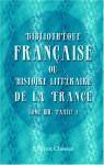 Bibliothèque française, ou Histoire littéraire de la France: Tome 13, Partie 1 (French Edition) - Unknown Author