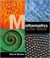 Mathematics in Our World - Allan G. Bluman