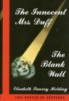 The Innocent Mrs. Duff / The Blank Wall - Elisabeth Sanxay Holding