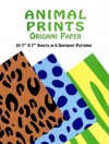 Animal Prints Origami Paper - Dover Publications Inc.