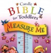 Measure Me: Candle Bible for Toddlers [With Stickers to Mark Height] - Helen Prole