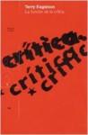 La función de la crítica - Terry Eagleton, Fernando Inglés Bonilla