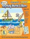 Hooked on Phonics Kindergarten Rhyming Words & More Workbook - Hooked on Phonics