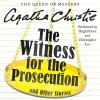 The Witness for the Prosecution, and Other Stories - Christopher Lee, Hugh Fraser, Agatha Christie