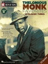 Thelonious Monk Favorites: Jazz Play-Along Volume 91 (Jazz Play Along) (Hal-Leonard Jazz Play-Along) - Thelonious Monk