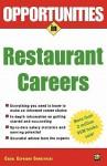 Opportunities in Restaurant Careers - Carol Caprione Chemelynski