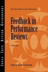 Feedback in Performance Reviews - E. Wayne Hart