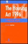 The Housing Act 1996 - David Cowan, David Clarke, Margaret Richards, Matthew Waddington