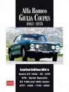 Alfa Romeo Giulia Coupes Limited Edition Ultra 1963-1976 (Limited Edition Ultra) - R.M. Clarke