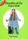 Dorothy of Oz Paper Doll - Tom Tierney