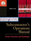 Subcontractor's Operations Manual - Sidney M. Levy