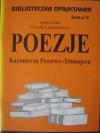 Poezje Kazimierza Przerwy - Tetmajera - Urszula Lementowicz