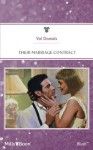Mills & Boon : Their Marriage Contract - Val Daniels