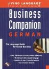 Business Companion: German (LL Business Companion) - Tim Dobbins, Paul Westbrook