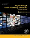 Keyboarding and Word Processing Essentials, Lessons 1-55 - Donna L Woo, Susie H VanHuss, Connie M Forde, Vicki Robertson